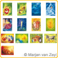 Assortment Fairy Tale Picture - Postcards - by Marjan van Zeyl